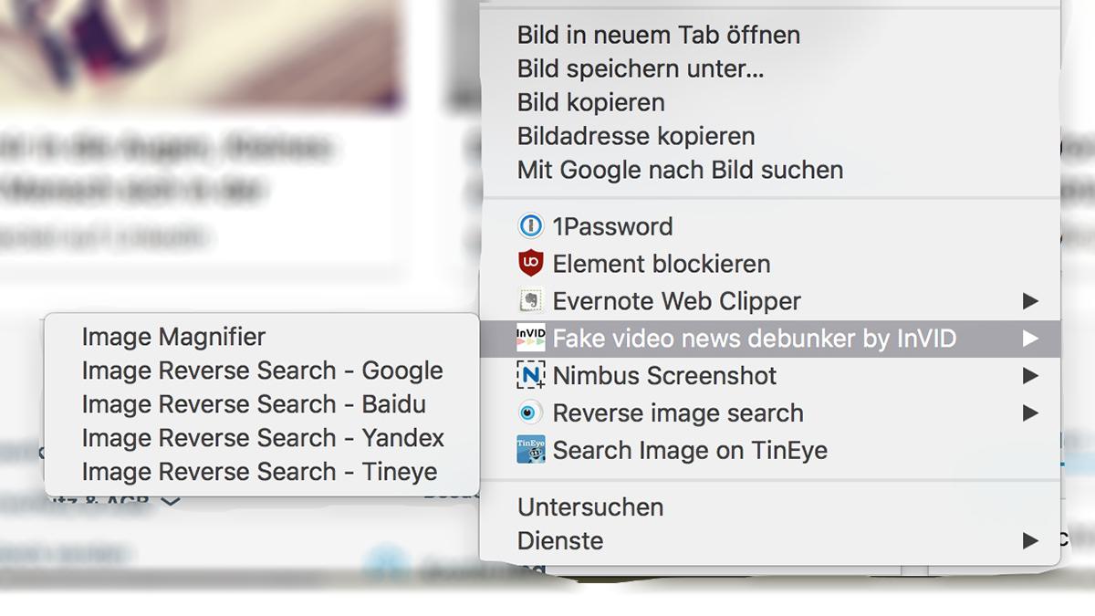 Chrome-Plugins für die umgekehrte Bildersuche
